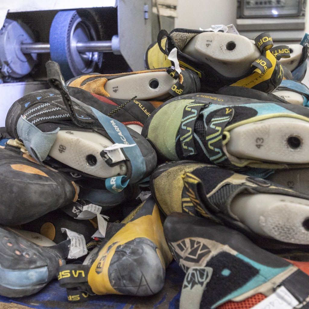 Arco Resoling climbing shoes and hiking shoes (3)